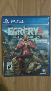 FARCRY 4 LIMITED EDITION FOR SALE IN EXCELLENT CONDITION