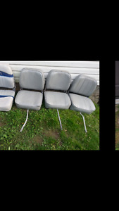 used boat seats