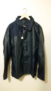 Mens leather jacket - New