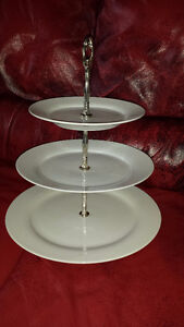 Wedding or Event cup cake porcelain stand