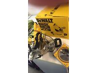 Dewalt Chop Saw Mitre Saw in box with spare Blade £125 No Offers Sittingbourne