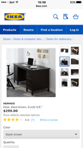Free! Ikea Desk with 2 chairs