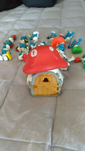 Vintage Smurf Toys - HIGHLY COLLECTIBLE