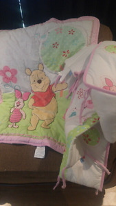 Blanket and crib bumpers - NEED GONE - $5