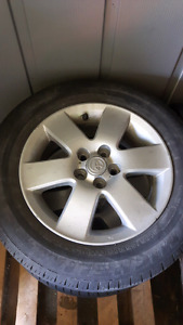 195 65 15 5x100 Toyota Alloy Rims