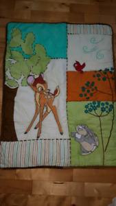 Disney Bambi crib bedding set
