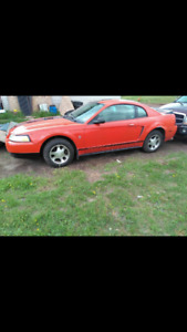 2000 Mustang  For Trade For Big Old Cars or V8 car