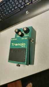 Tremolo Chorus Pedals