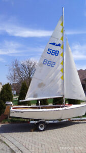 15' sailing boat for sale