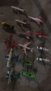 Toy airplane collection