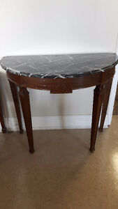Half-Moon Console Tables for Sale