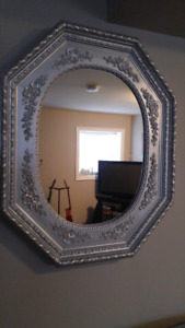 Refinished Antique Mirror