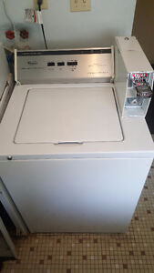 Mint Condition Commercial Washer and Dryer(coin operated)
