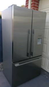 Fisher & Paykel 600lt fridge French doors top mount