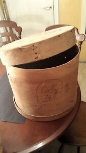 Old Wooden Cheese Barrel