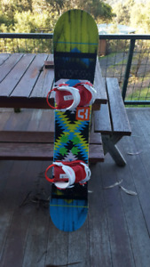 Nitro Snowboard with Union bindings