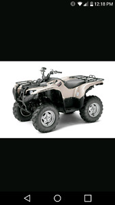2012 yamaha grizzly special edition