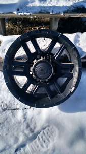 "17""  Ion Rims. 8 bolt"