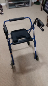 Blue  Dana Douglas DX4200 Padded Seat. Good Condition.
