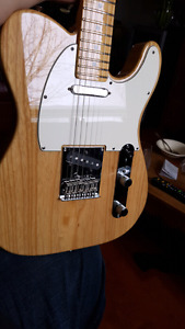 Fender telecaster Standard USA 60TH special edition natural lite