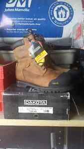 Work boots size 17