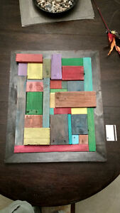 Abstract Pallet Wall Art