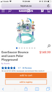Excersaucer Bounce and Learn Polar Playground