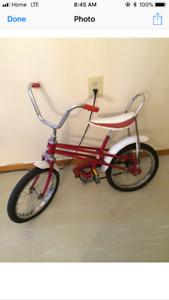 Older style children's bike for sale