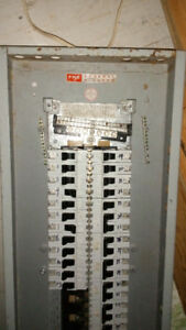 Federal Pioneer distribution panel 200 amp