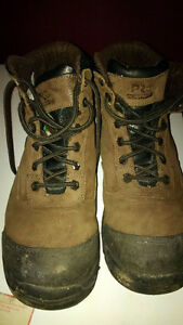 Timberland Pro steel toe boots size 9.5
