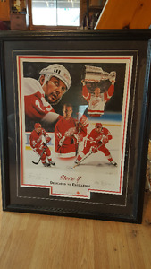 Steve Yzerman signed Picture