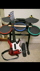 Rock band and Nintendo Wii