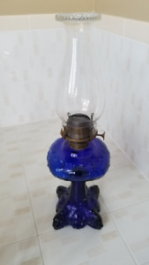 Cobalt Blue Lamp No 3 Queen