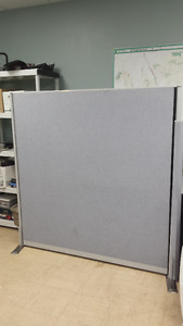 7 Office dividers/cubicles