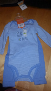 9 month baby boy sleeper new with tags