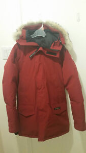 100% Authentic Red Canada Goose Langford Parka - $650