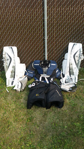 Starter set for goalies