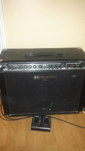 Amp with pedal $100