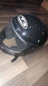 Two motorcycle helmets both L