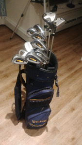 Women's Spalding Tour Flite Golf Clubs & Bag