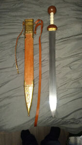 Price reduced!!! Roman gladius sword (high carbon steel blade)