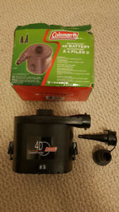 Coleman QuickPump 4D Battery Pump for Air Mattress
