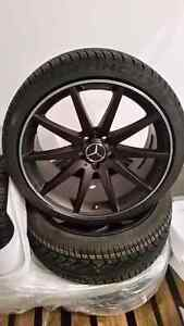 """19"""" AMG Mercedes reps C Class wheels with 245/35-19 + 255/35-19"""