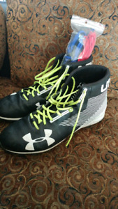 Under Armour Football Cleats size 13