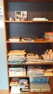 Bibliothéque ou étagère en bois