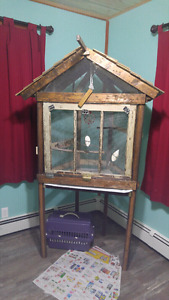 Large Home made Bird cage for sale