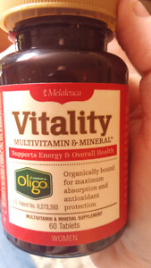 Vitality multivitamin woman