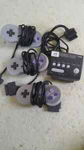 Super nintendo games and accessories