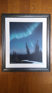"""Must sell!  Clarence Kapay """" Walk to Eternity """" Painting"""