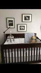 Crib for sale never used with lots of extras!!!